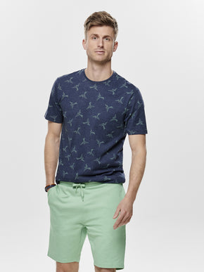 FINAL SALE – BIRD PRINT T-SHIRT