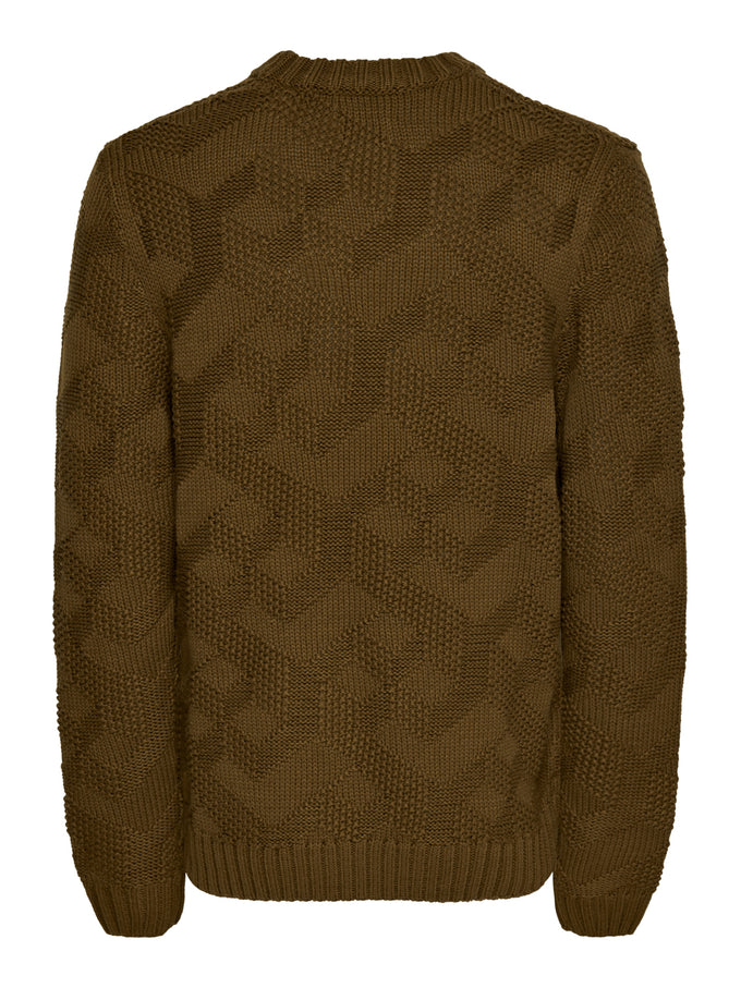RUFUS CHUNKY SWEATER Monks Robe