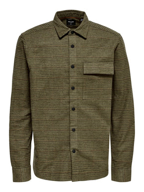 GILBERT CHECKED OVERSHIRT