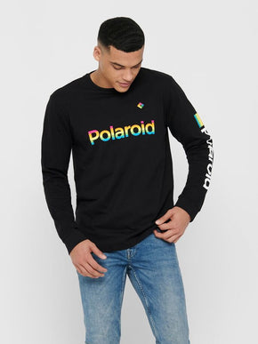 LONG-SLEEVED POLAROID T-SHIRT