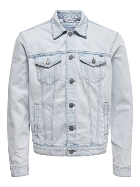BLUE TRUCKER JACKET 6147