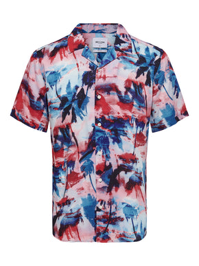 OLIVER PRINTED SHORT SLEEVE SHIRT