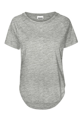 HIGH-LOW BASIC T-SHIRT