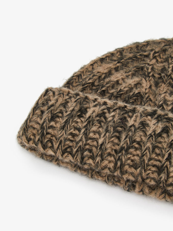 CHUNKY TUQUE Taupe Gray