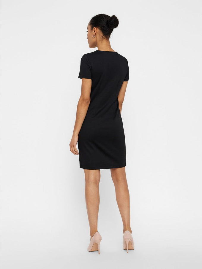 ESSENTIAL BODYCON DRESS Black