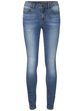 NMLUCY COFFEE SKINNY FIT JEANS