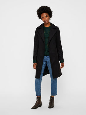 LONG WOOL-BLEND JACKET