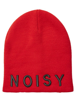 EMBROIDERED NOISY MAY BEANIE