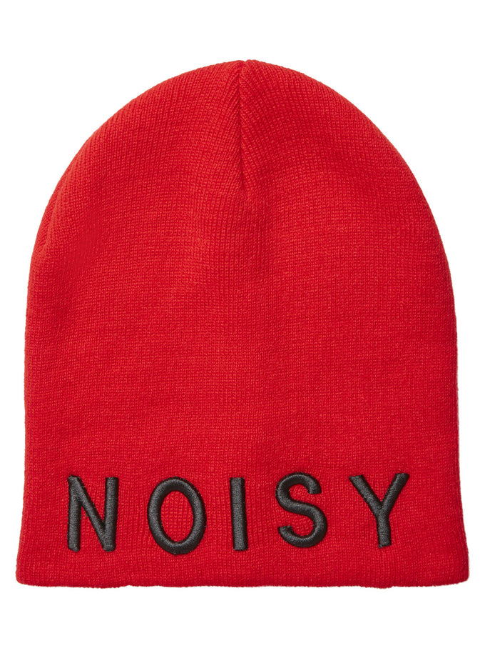 EMBROIDERED NOISY MAY BEANIE Molten Lava