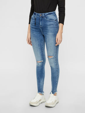 NMLEXI HIGH WAIST SKINNY FIT JEANS