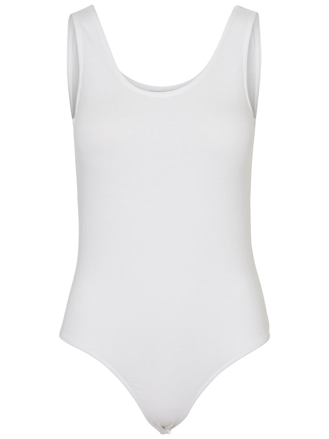 Tank Bodysuit Bright White