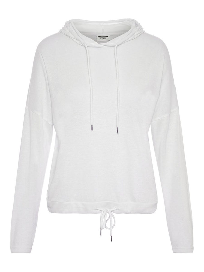 SUPER SOFT KNIT HOODIE Bright White