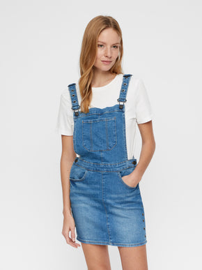 FEMININE DENIM OVERALL-DRESS