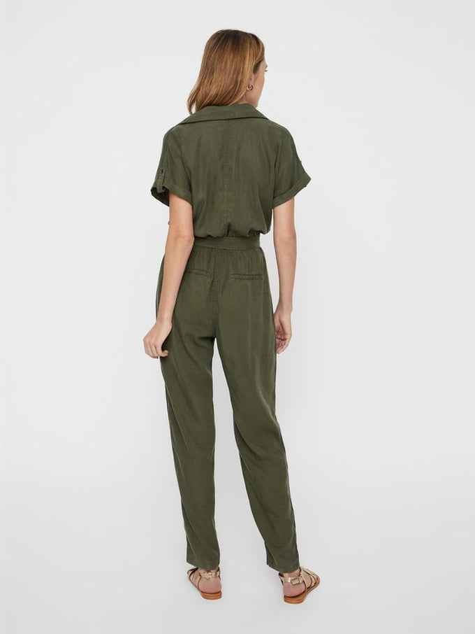 LYOCELL JUMPSUIT Olive Night