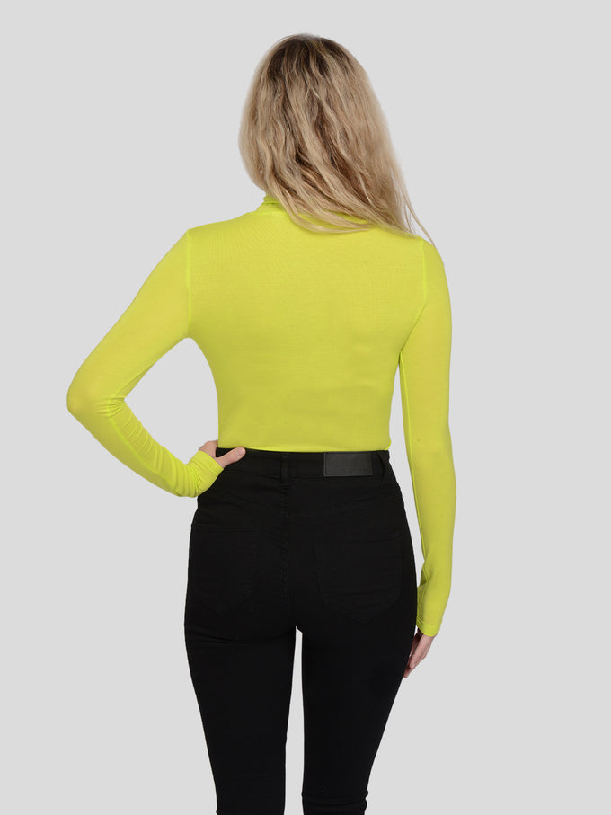 ELLE LONG SLEEVE TOP Evening Primrose