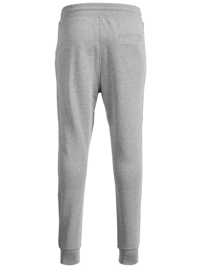 TAPERED FIT SWEATPANTS LIGHT GRAY MELANGE