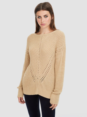 Long Boatneck Sweater