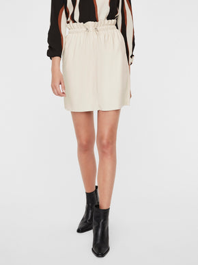 AWARDS HIGH WAIST SHORT SKIRT