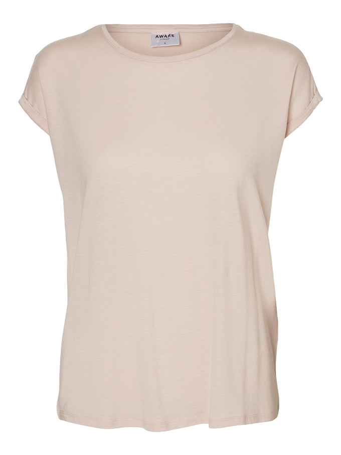 Aware Ava T-Shirt Sepia Rose