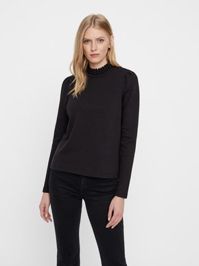 HIGH-NECK SWEATSHIRT