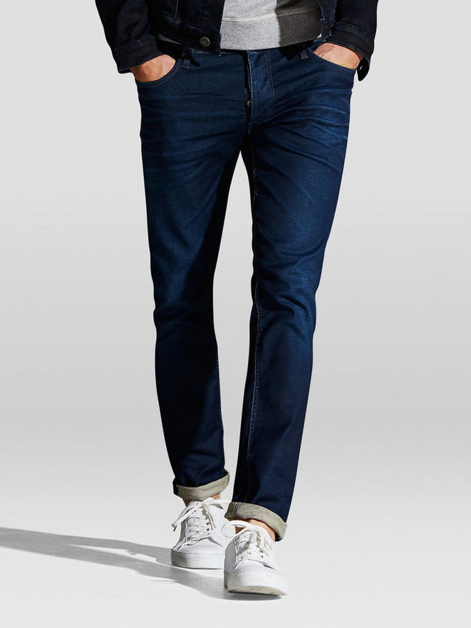 SLIM FIT TIM 820 JEANS Medium Blue Denim