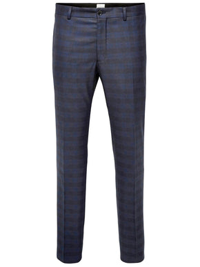 F-JJPRROY CHECKERED TROUSERS