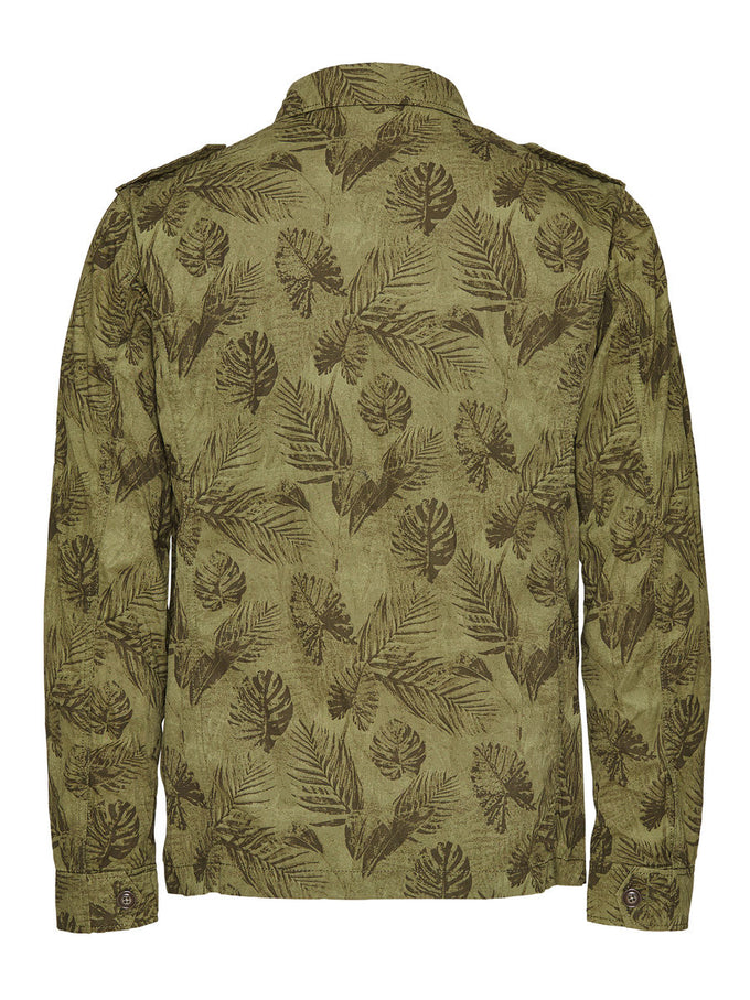F-JJVCHARRISON FIELD JACKET DEEP LICHEN GREEN