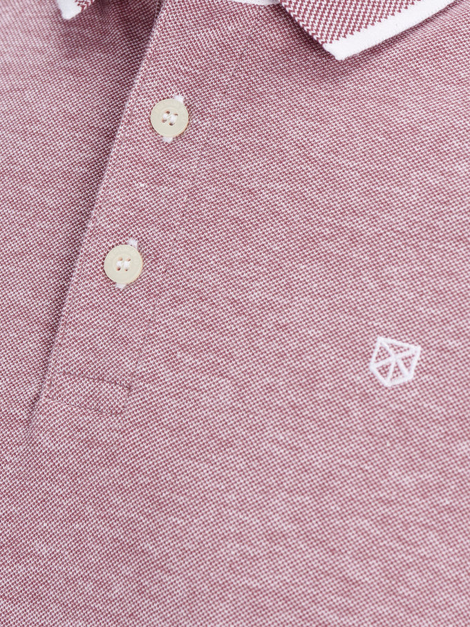 CLASSIC PIQUE POLO HAWTHORN ROSE
