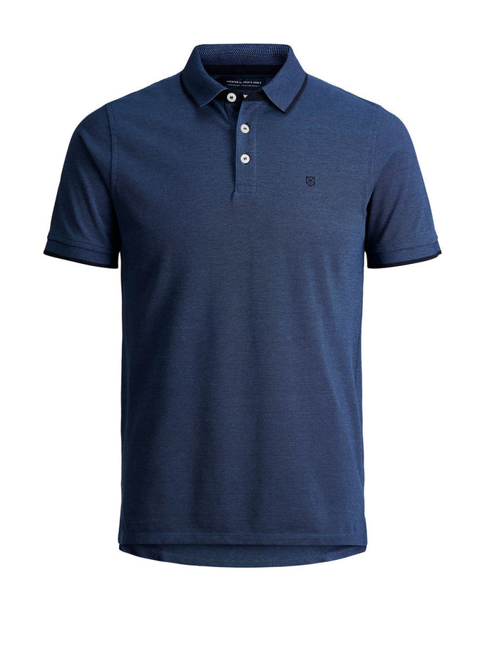 CLASSIC PIQUE POLO TRUE NAVY