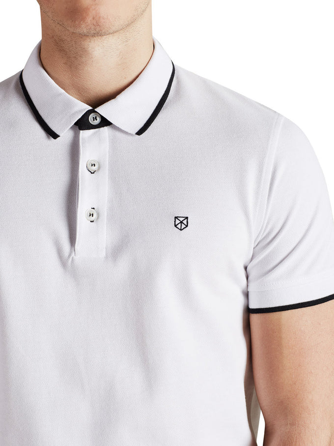 JJPRPAULOS POLO WHITE