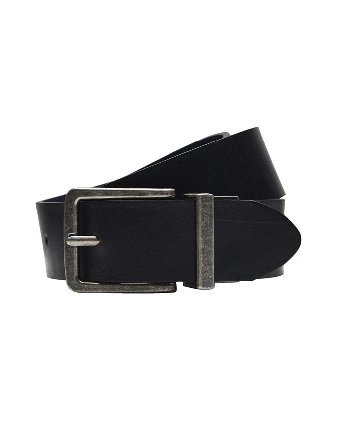 JJREVERSE LEATHER BELT BLACK