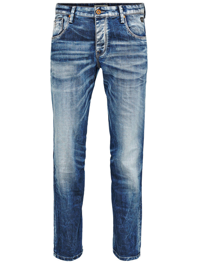 JEANS JJMIKE RON 254 Denim bleu
