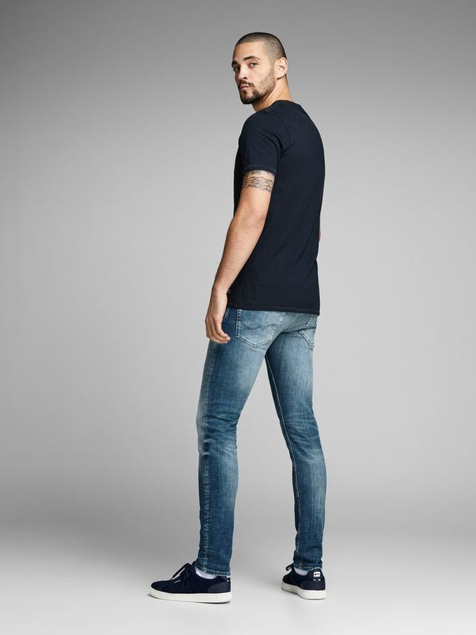 WORN LOOK GLENN 881 SLIM FIT JEANS BLUE DENIM