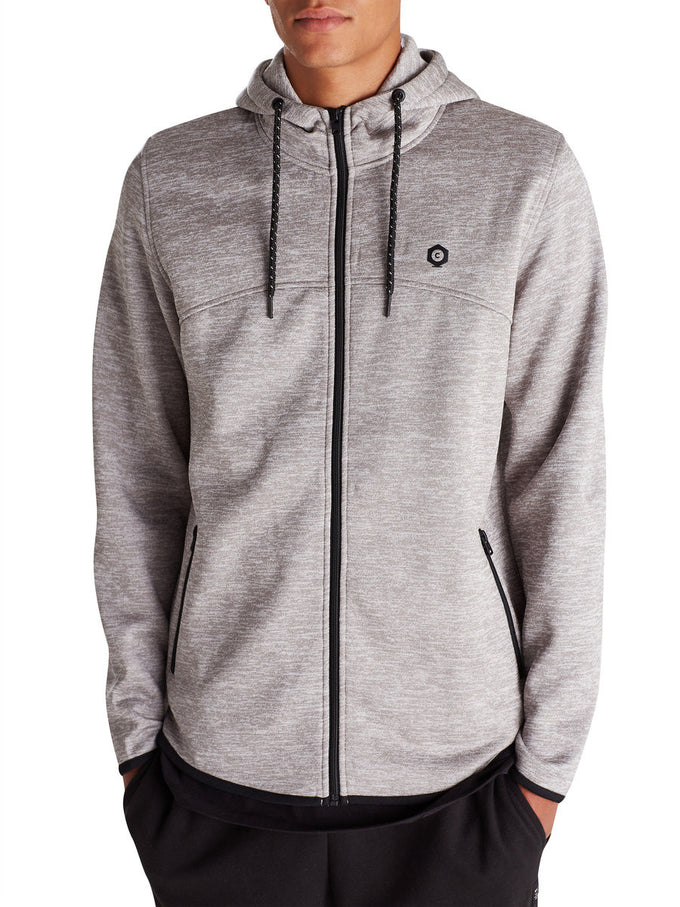 JJCODYLAN HOODIE Light Grey Melange