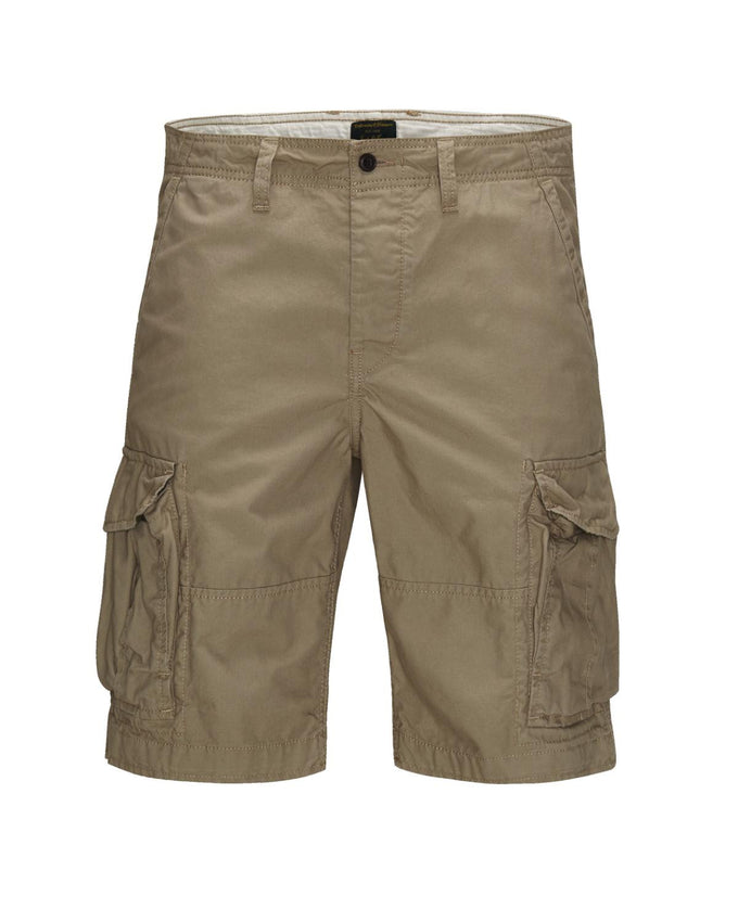 F-JJPRESTON AKM 216 CARGO SHORTS CHINCHILLA