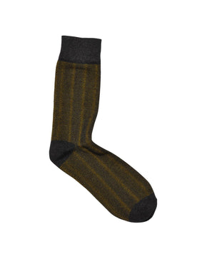 JJACFADED STRUCTURE SOCKS