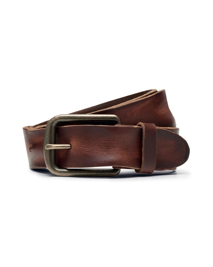 JJACBRICE LEATHER BELT MOCHA BISQUE