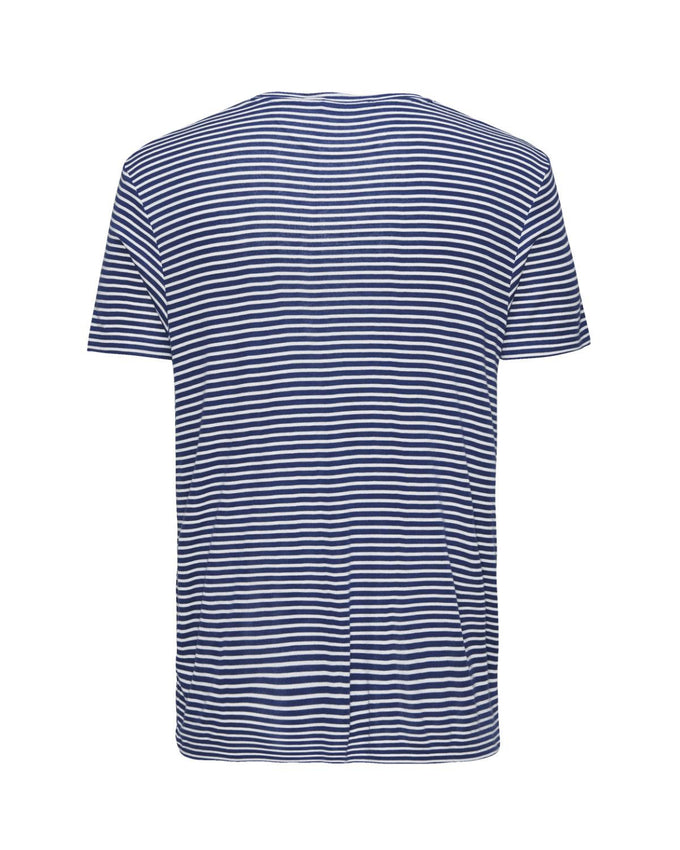 T-SHIRT JJPRWILLIAM BLEU MONACO