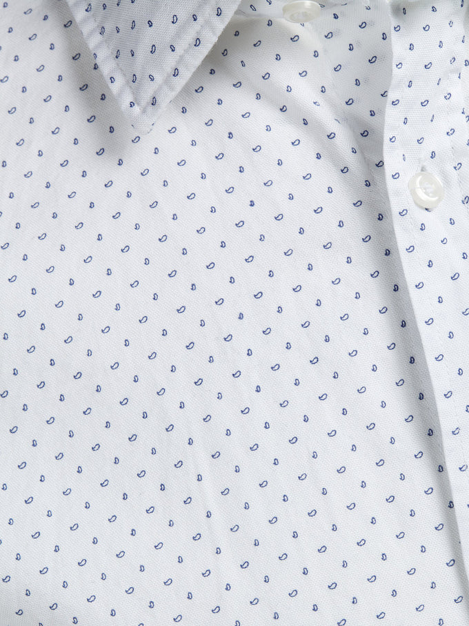 JPRNEWCASTLE SHIRT Cashmere Blue