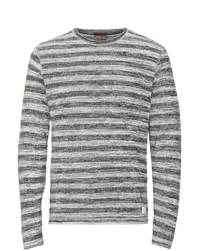 JJVCOLTON SWEAT Light Grey Melange