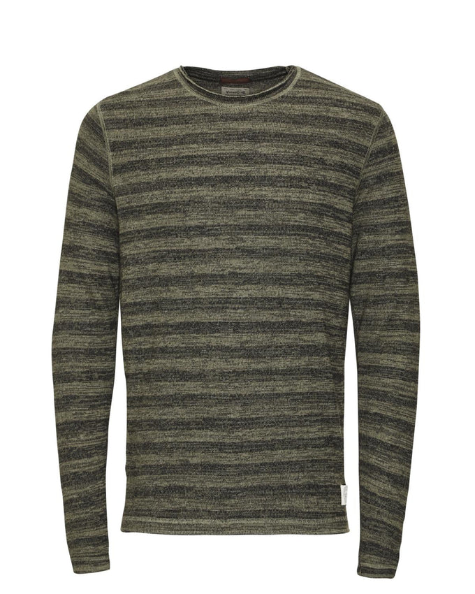 JJVCOLTON SWEAT Olive Night