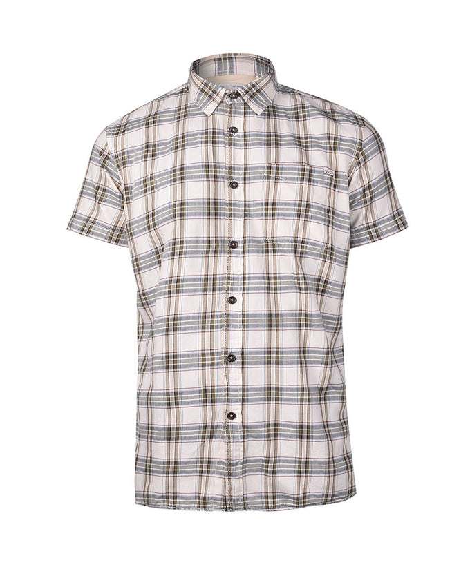 F-JJVCMAYWOOD SHIRT OLIVE NIGHT