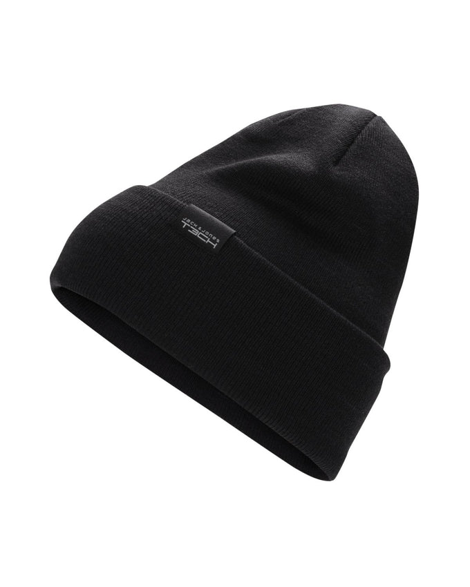 INSULATED ROLL UP BEANIE BLACK