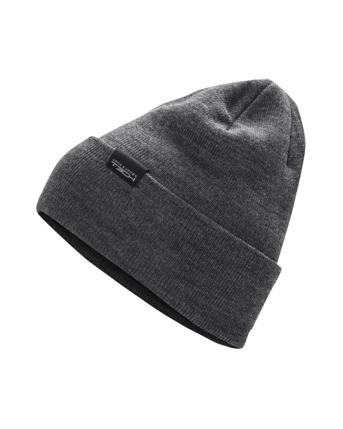 INSULATED ROLL UP BEANIE DARK GREY MELANGE