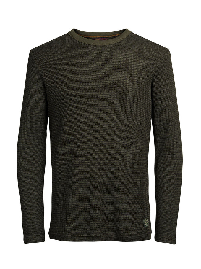 JJVCWALKER SWEAT Olive Night