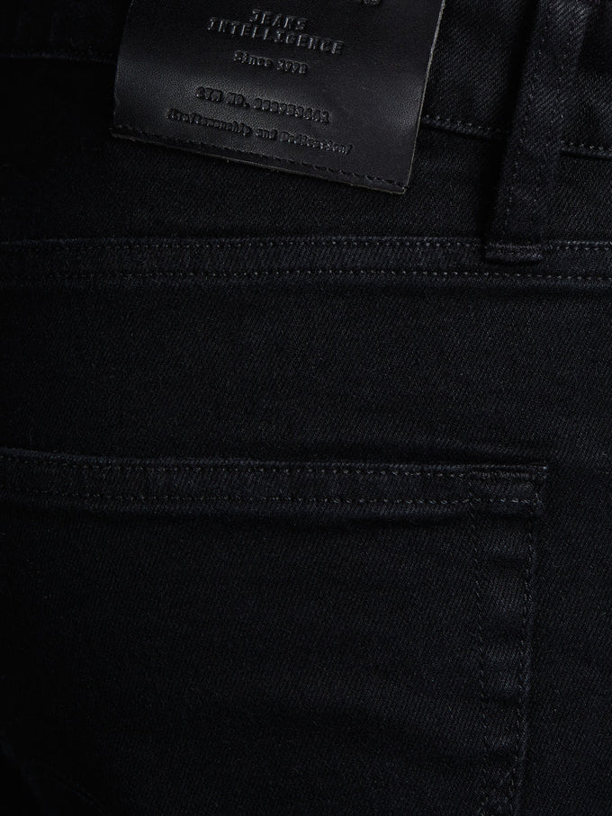JEAN COUPE AMPLE MIKE 002 DENIM NOIR