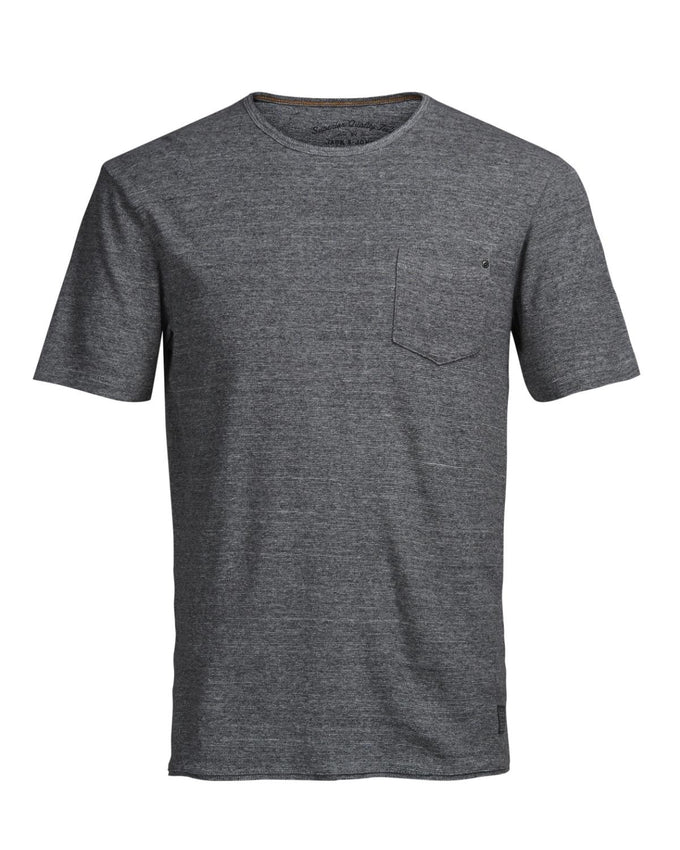 JJVCRUFUS T-SHIRT LIGHT GREY MELANGE