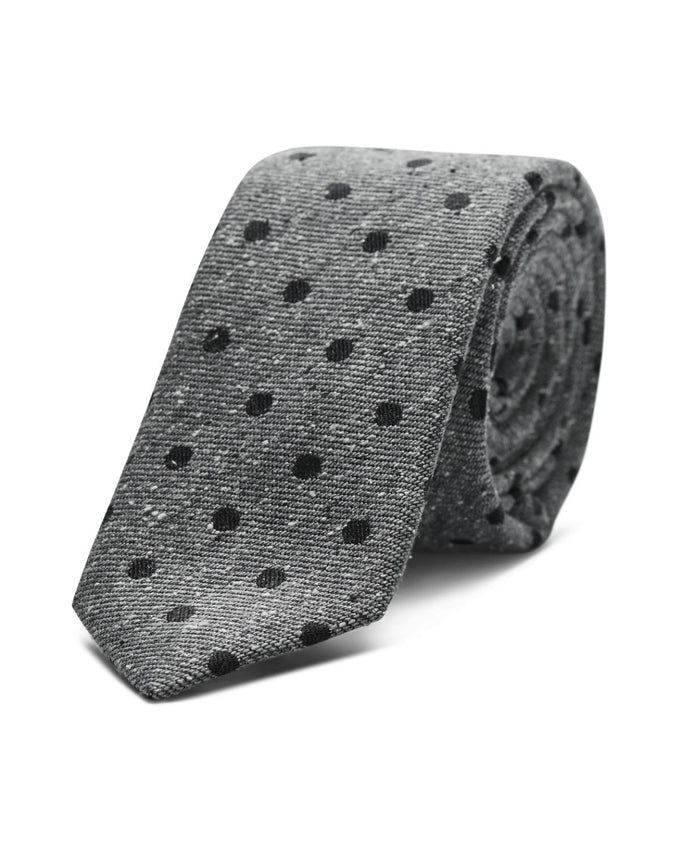 CRAVATE JJACWASHINGTON GRIS/POIS