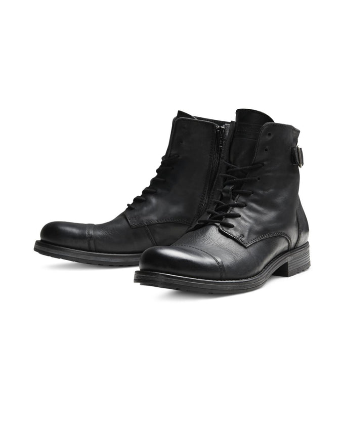 JJFWSITI LEATHER BOOTS ANTHRACITE