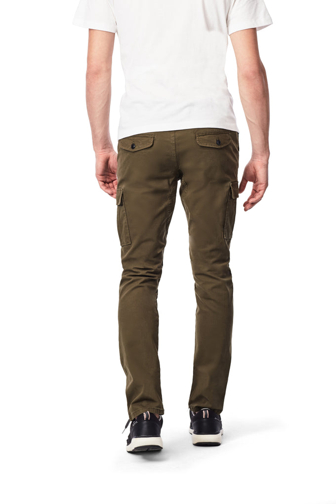 BASIC CARGO PANTS OLIVE NIGHT
